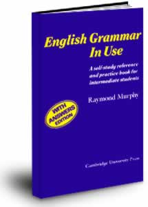 Учебник English Grammar in Use by Raymond Murphy (синий)