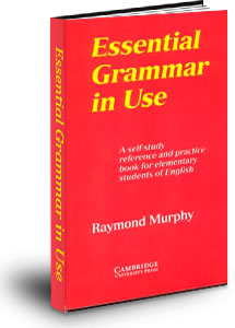Учебник Essential Grammar in Use by Raymond Murphy (красный)